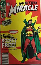 Mister Miracle 28 (1991) Last Issue - Finally Scott Free
