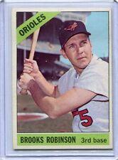 1966 Topps Baseball Card Brooks Robinson Baltimore Orioles Near Mint # 390