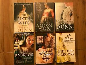 Historical Fiction Book Bundle x6 - The Tudor Wife, The Boleyn Inheritance