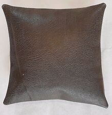 Leather cushion cover, Brand new 100% genuine, Leather handmade 36 x 36cm