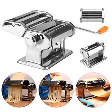 Pasta Lasagne Spaghetti Tagliatelle Ravioli Maker Machine Stainless Steel UK