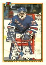 1990-91 (RANGERS) Bowman Tiffany #218 Mike Richter