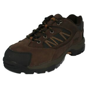 Ladies / Mens Unisex Magnum Nubuck Lace Up Steel Toe Safety Shoes : Worker Low