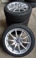 4 Mercedes-Benz Kompletträder B-Klasse W246 A W176 CLA X117 225/45 R17 91H M+S