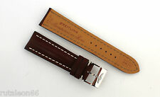 BREITLING  genuine brown leather watch strap 24-20    443X   24mm.