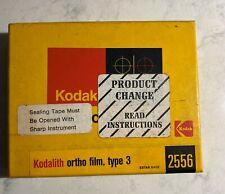 Vintage 20-30 Count 4x5 Kodalith Ortho Film Type 3 Darkroom Photo Developing 20