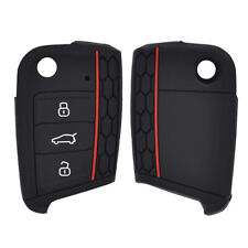 Silicone Car Remote Key Cover For 2016- VW Golf 7 MK7 Polo Case Fob Shell