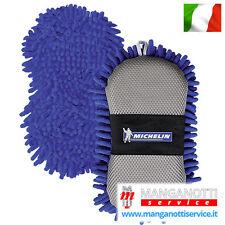 MICHELIN Spugna Microfibra Pulizia Auto Moto Lavaggio Carrozzeria NO Graffi