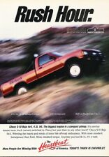 1991 Chevrolet S-10 Pickup Truck Original Advertisement Print Art Car Ad J243