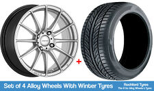 "Inovit Winter Alloy Wheels & Snow Tyres 15"" For Ford Focus [Mk1] 98-04"