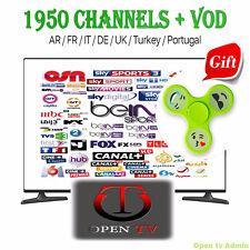 IPTV Arabe Abonnement 2017 HDTV 12 Mois For Smart tv, Phones, Mag, enigma, Pc