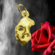 New Phantom of the opera masquerade Mask charm 24K Gold Plated Jewelry