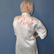 Personalised Kimono Wedding Gown / Robe / Bridal Party / Bridesmaids / Bride