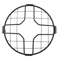 7 inch Headlight Mesh Grill Retro Guard Motorcycle Headlamp Light Cover