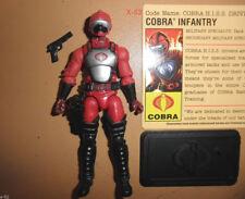 GIJOE gi joe COBRA red HISS TANK driver TROOPER viper figure TOY target exclusiv