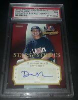 2013 Panini USA Baseball Champions David Nick Auto RC!! PSA Graded!!
