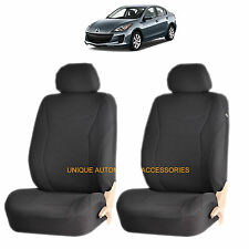 BLACK SPEED AIRBAG COMPATIBLE FRONT LOWBACK SEAT COVERS SET for MAZDA 3 6 CX-7
