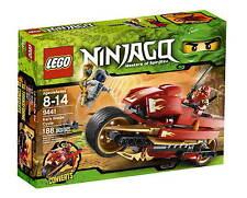 LEGO Ninjago Kai's Blade Cycle #9441 incl. Kai ZX BNIB Collector's 2011 Release!
