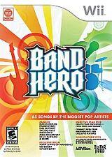 Band Hero  (Wii, 2009) New Sealed