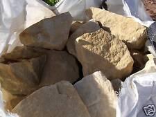 980 kg Findlinge Bruchsteine Sandstein 100/300 mm für Trockenmauer