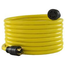 Generator Extension Cord 4 Prong 30 Amp 25 Feet Parts Snow Emergency Weather