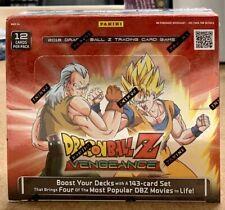 Dragon Ball Z VENGEANCE Booster Box TCG Panini SEALED
