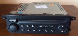 REFURBISHED CITROEN C5 XSARA PICASSO CD RADIO PLAYER + PROFESSIONAL VIN CODING