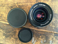 WideAngle lens PENTACON auto 2.8/29 MC 29mm F/2.8  -  Meyer-Optik Orestegon M42