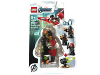 LEGO Marvel 40418 Falcon & Black Widow Minifigure Pack - Exclusive Special - D3