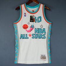 100% Authentic Shawn Kemp Mitchell & Ness NBA All Star Swingman Jersey Size 36 S
