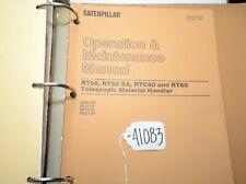 Cat Service Manual rt50 rt50 sa rtc60 rt60 Telescopic Material Handlers (41083)