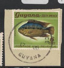Guyana Fish Plaisance Town Cancel VFU (1dua)
