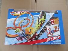 HOT WHEELS SKY JUMP frenesia Track Set