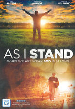 NEW Sealed Christian Drama Widescreen DVD! As I Stand (Ian Hutton,Adam Griffith)