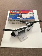 Vintage 1989 Lewis Galoob  - Micro Machines ~ Police Chopper - Boxed - Good