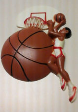 Children'S Wall Decor Plaque Basketball 7X4 Plastic
