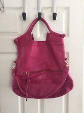 Foley + Corinna Large City Bag Pink Anthropologie Leather Crossbody Shoulder