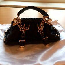 BNWT Beautiful 100% Authentic VERSACE Designer Leather Black Handbag Rrp £1800