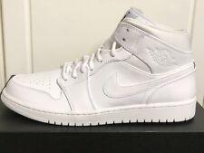 Nike Air Jordan 1 Mid Uomo Scarpe Ginnastica UK 10 EUR 45 US 11