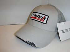 Case IH Be Ready Distressed Gray Men's Mesh Back