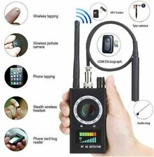 Multi-Function Anti-spy Detector Camera GSM Audio Bug Finder GPS Signal Lens RF
