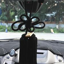 1Pcs New VIP Car Charm JDM Fusa Black Kiku Knot Car Rearview Mirror Decoration