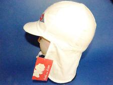 Dolli KU 51 52 53 54 55 Nackenschutz Sommer Sonnen Hut Mädchen Junge Kappe weiß