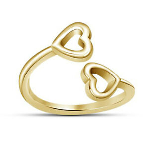 14k Yellow Gold Over 925 Sterling Silver Classy Look Women's Toe Ring