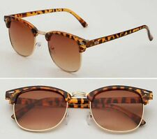 Vintage UV400 Outdoor Shades Eyewear Women Mens Retro Round Polarized Sunglasses