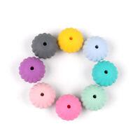 10 Perle 12mm Silicone Couleur au Choix Attache tetine ... Creation Bijoux