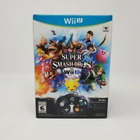 Super Smash Bros. (Nintendo Wii U) Game Controller Adapter Brand New Sealed