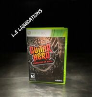 Guitar Hero: Warriors of Rock (Microsoft Xbox 360, 2010) Complete Tested