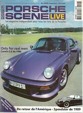 PORSCHE SCENE LIVE 2005 9 964 TURBO 3.3 996 TECHART CABRIO 965 TURBO 911 SPEEDST
