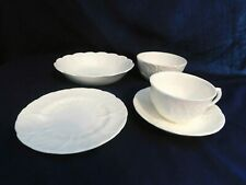 J- Wedgwood Bone China England Countryware  5-pc Lot Dessert, Soup, Cereal, Cup